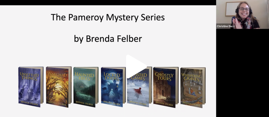 Virtual Author Visit with Brenda Felber