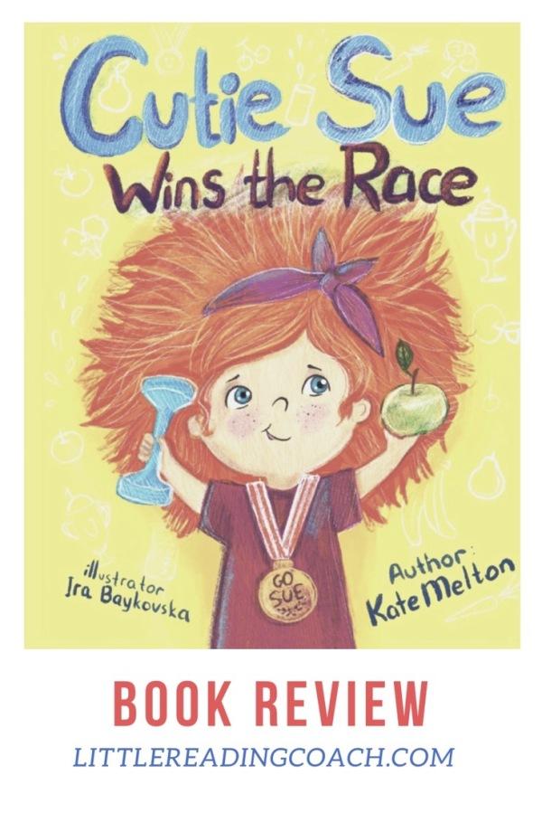 Cutie Sue Wins the Race BookReview