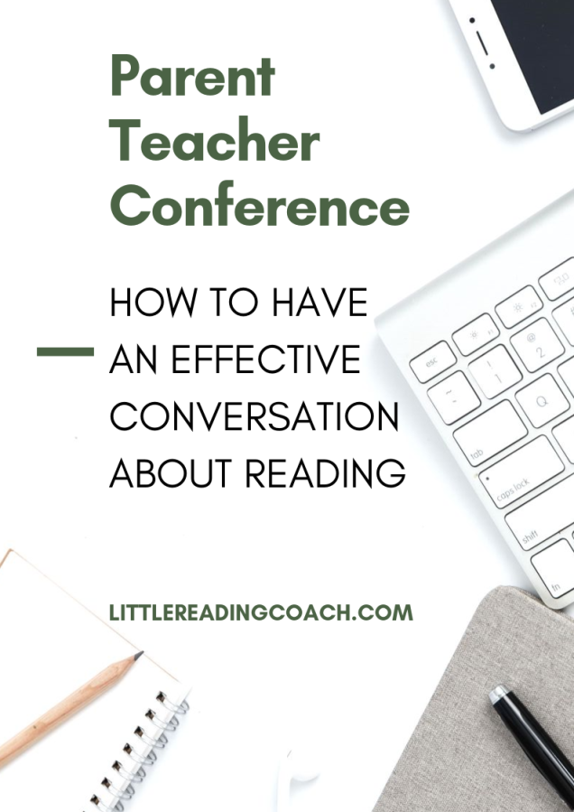Parent Teacher Conference: How to Have an Effective Conversation about Reading