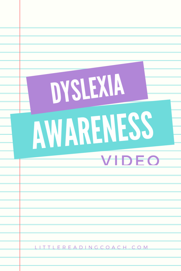 Dyslexia Awareness Video