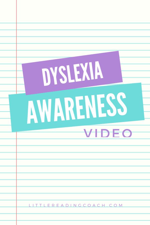 Dyslexia Awareness Video