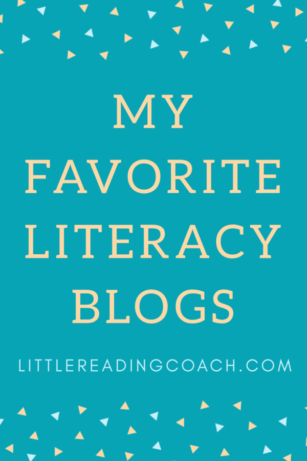 My Favorite LiteracyBlogs