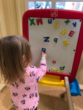 Molly Magnet Letters
