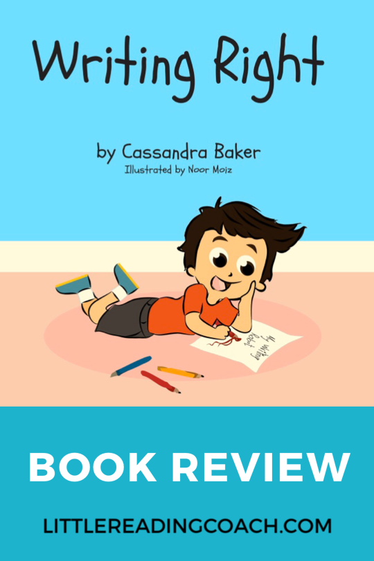 Writing Right: A Story about Dysgraphia BookReview