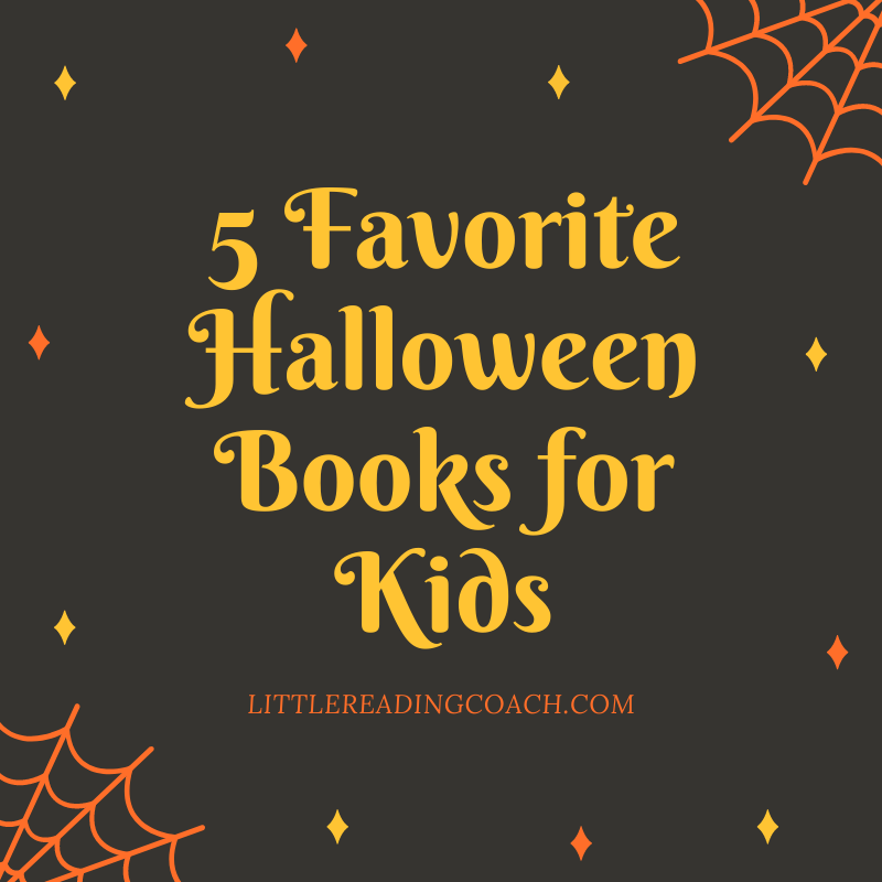 5 Favorite Halloween Books for Kids