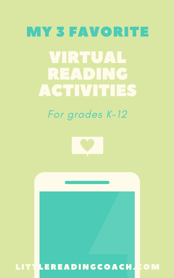 My 3 Favorite Virtual Reading Activities