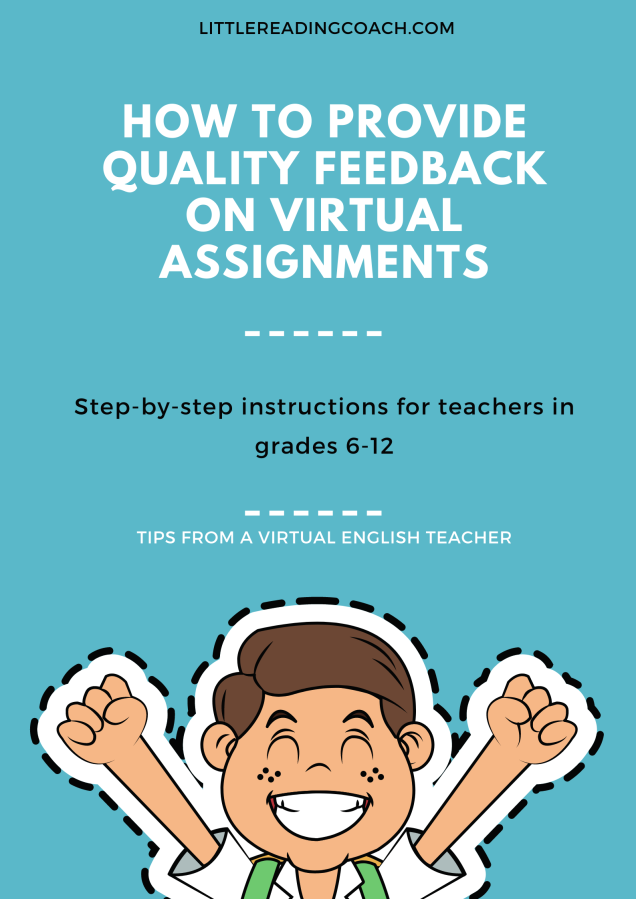 How to Provide Quality Feedback on Virtual Assignments